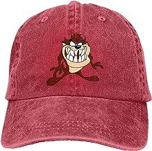 Men&Women Taz Tasmanian Devil Looney Tunes Cartoon Bugs Sticker Or Magnet Adjustable Vintage Washed Denim Cotton Dad Hat Baseball Caps