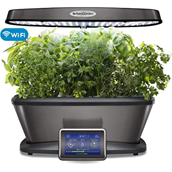 AeroGarden 903124-1100, Platinum Bounty Elite WiFi