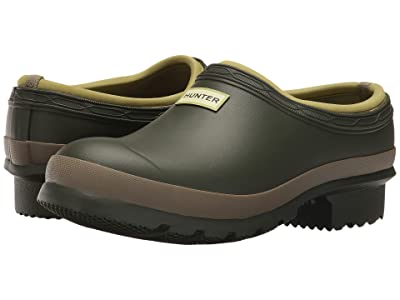 Hunter Garden Clog (Dark Olive/Clay) Women