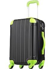 スーツケース キャリーケース キャリーバッグ 機内持込 S M L ファスナー 傷が目立ちにくい TSAロック ハードキャリー 拡張 ジッパー 女子旅 全サイズ 有り 5082