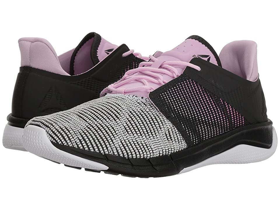 Reebok Flexweave Run (Coal/Acid Pink/Moonglow/White) Women