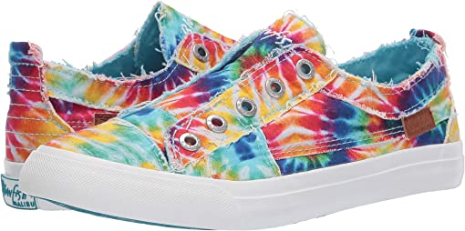 Rainbow Tie-Dye Canvas