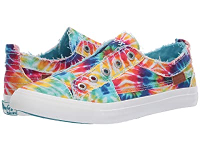 Blowfish Play (Rainbow Tie-Dye Canvas) Women
