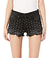 The Kooples - Denim Shorts with Studs