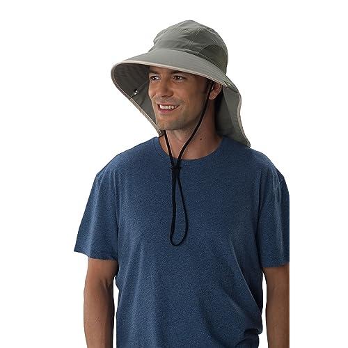 b7a451d3831 Sun Protection Zone Unisex Lightweight Adjustable Outdoor Floppy Sun Hat ( 100 SPF