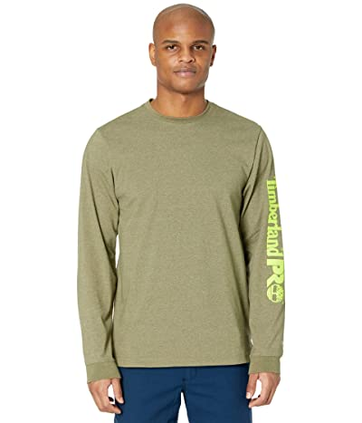Timberland PRO Base Plate Long Sleeve T-Shirt with Logo