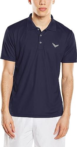 Trigema hommes Shirt Coolmax, Polo Homme