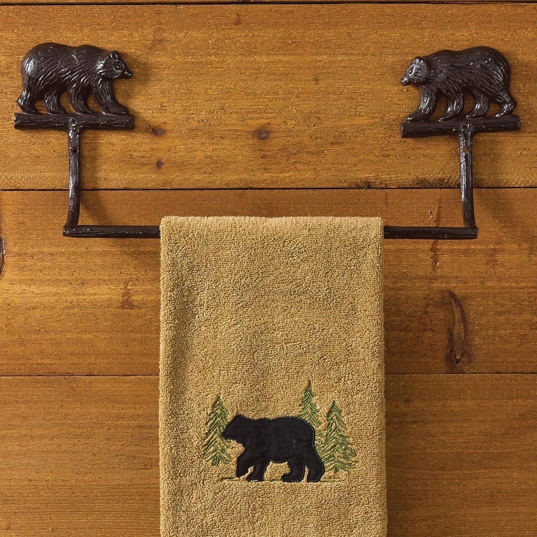 Park Designs Cast Bear Towel Bar - 16