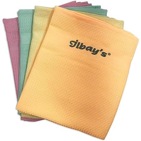 Ilbays Lot de 4 chiffons en microfibre