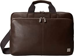 KNOMO London - Newbury Leather Laptop Briefcase