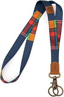 POCKT Neck Lanyard Keychain Holder for Men and Women - Cool Lanyards for Keys Wallet and ID Badge Holder with 2 Key Ring |...