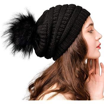 SARMY Lotus Flowers Winter Wool Cap Warm Beanies Knitted Hat