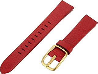 b&nd by Hadley Roma with MODE 16mm Leather Calfskin Red Watch Strap