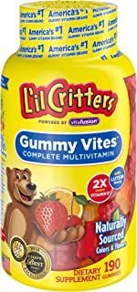 Lil Critters Gummy Vites Complete Kids Gummy Vitamins, 190 Count