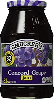 Smucker's  Concord Grape Jam, 32-Ounce (Pack of 6)