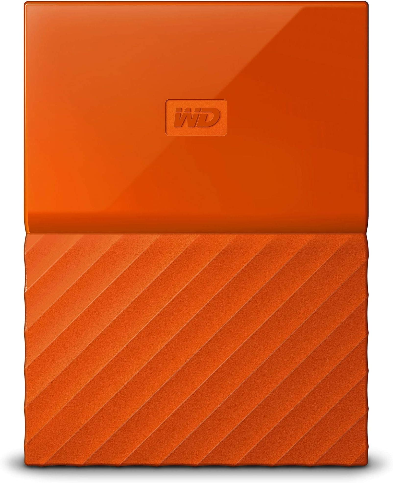 WD 4TB Orange My Passport Portable External Hard Drive - USB 3.0 - WDBYFT0040BOR-WESN