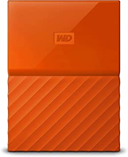 WD 4TB Orange USB 3.0 My Passport Portable External Hard Drive (WDBYFT0040BOR-WESN)