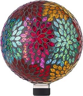 ديكور فناء من الزجاج بقطر 25.4 سم من ألبين كوربوريشن HMD172 آلباين كوربوريشن، متعددة الألوان