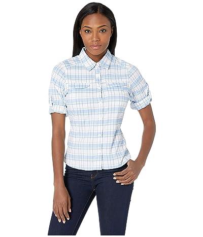 Columbia Silver Ridge Lite Plaid Long Sleeve Shirt (White Cap Small Plaid) Women