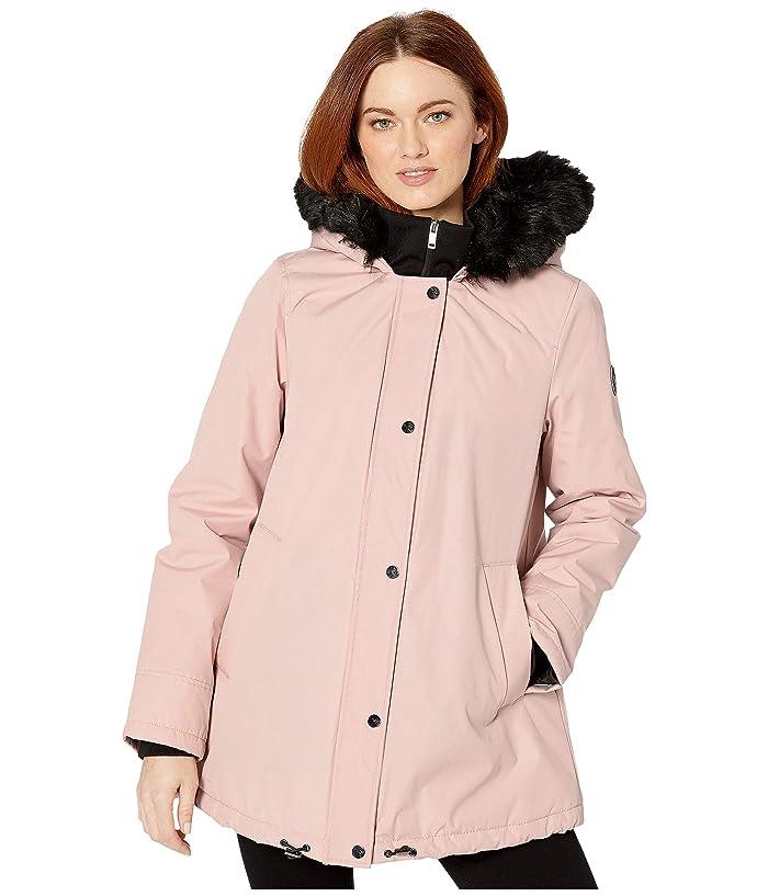 UGG  Bernice Parka (Pink Crystal) Womens Clothing