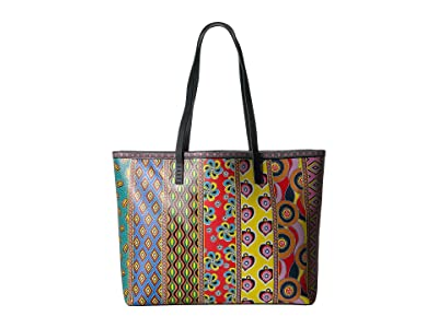 Alice + Olivia Missy Printed Large Perfect Tote (Multi Vista 2) Tote Handbags