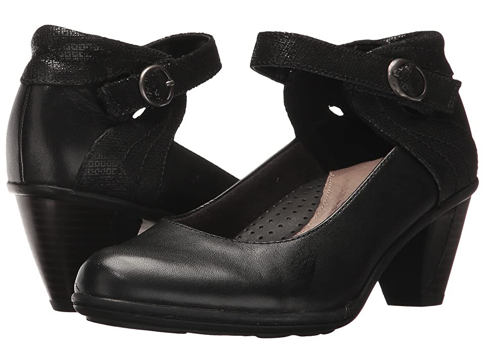 Earth Garnet (Black Full Grain Leather) High Heels