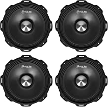 "$204 » (4) American Bass Godfather 8"" 800w Slim Open Back Midrange Car Speaker GF 8MR"