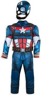 disney captain america costume