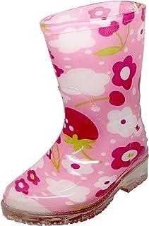 [LF Wear] 幼児用の雨ブーツ、防水性、ゴム靴サイズ5?–?10