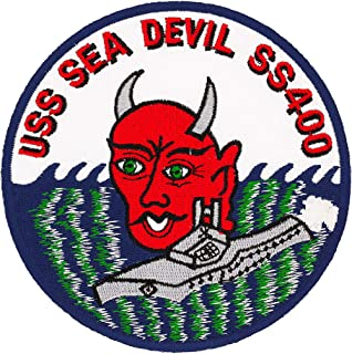 USS Sea Devil SS-400 Patch Full Color
