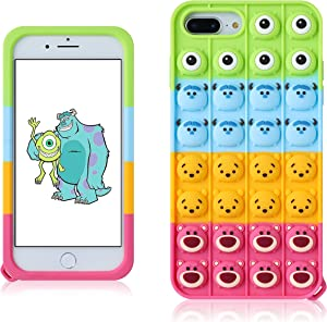 JoySolar Disney Cartoon for iPhone 6/6S/7/8/SE 2020 Case Silicone CaseDesign Character Funny Cute Unique Fidget Aesthetic Cover Cases for Boys Girls Youth((for iPhone 6/6S/7/8/SE 2020 4.7