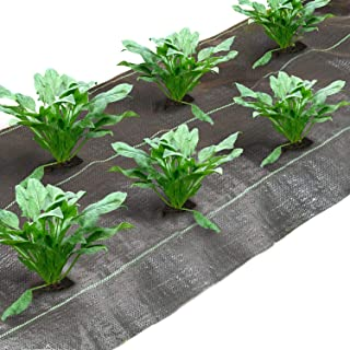 Agfabric�Landscape�Fabric�Weed�Barrier�for Spinach Ground�Cover�Garden�Mats�for�Weeds�Block�in�Raised�Garden�Bed,�6�Ft�X�300�Ft