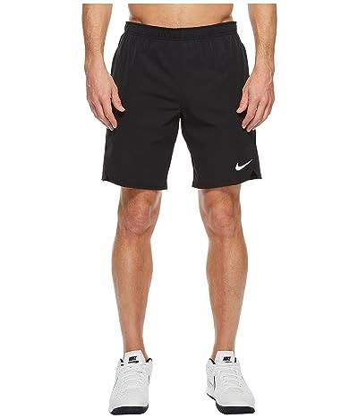 Nike Court Flex Ace 9 Tennis Short (Black/Black/Black) Men