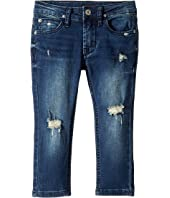 Jude Skinny French Terry Jeans in Remake (Toddler/Little Kids/Big Kids)
