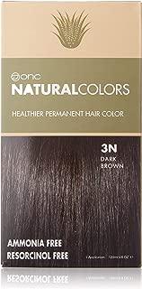 ONC NATURALCOLORS 3N Dark Brown Healthier Permanent Hair Color - 120 ml (4 fl. oz.)| Ammonia Free,Natural Hair Dye, No Parabens - Premium Salon Quality