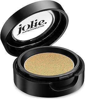 Jolie Cosmetics Powder Pressed Pearl Shimmer Eyeshadows - Cruelty Free, Vegan, Single Pan Eyeshadow 1.48g Base Neutrals (G...