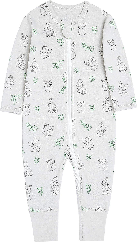 Baby Organic 5% OFF Cotton Dedication Footless Sleep Z Boy Play Girl and