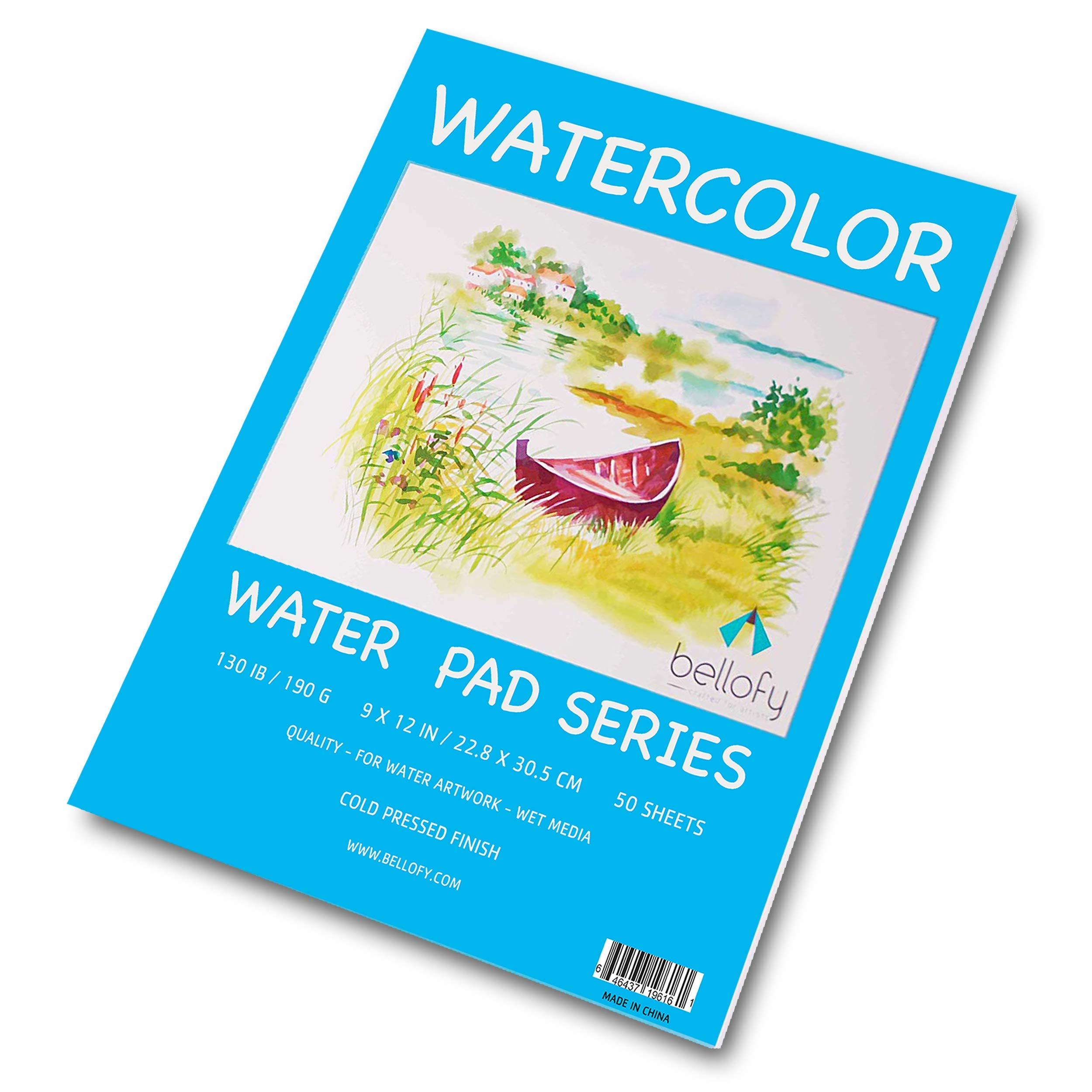 5 by 7-Inch Strathmore 140305 140-Pound 25-Sheet Hot Pressed Watercolor Paper