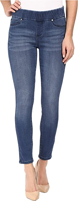 Liverpool Sienna Ankle Leggings in Waverly Wash/Indigo