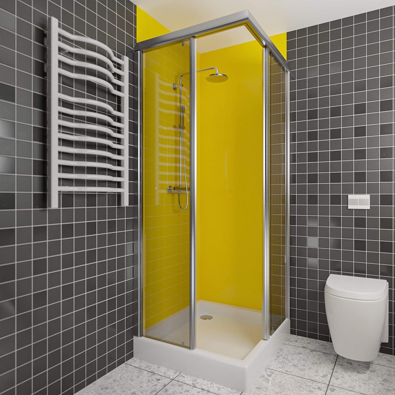 Wasserfeste Duschrückwand als Wandverkleidung 20 x 20 cm BxL ...