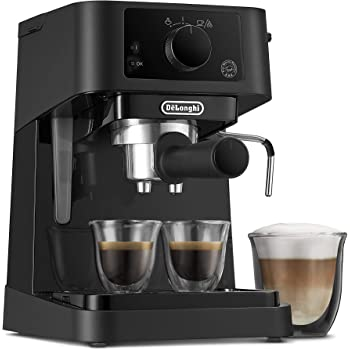DeLonghi Stilosa Advanced EC235.BK - Cafetera de bomba con 15 bares de presión, 1100 W, 1L, color negro: Amazon.es: Hogar