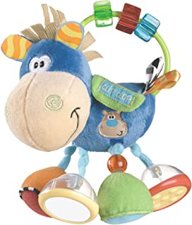Playgro Clip Clop and Clopette Baby Activity Rattle Toy (assorted colors)