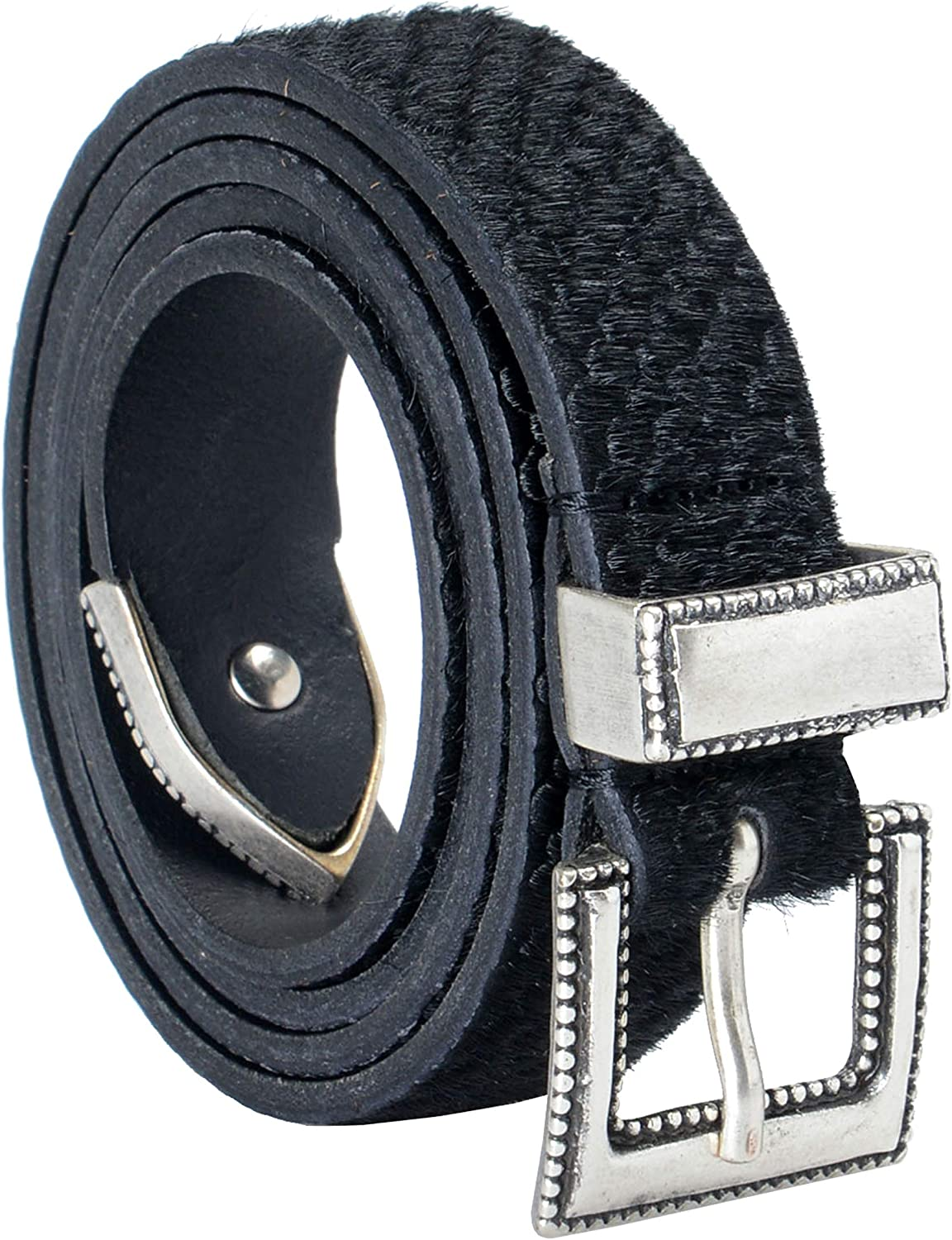 Just Cavalli 100% Leather Black Women's Belt US 30 IT 95