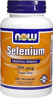 Now Foods Selenium, 180 caps / 200 mcg (Multi-Pack)