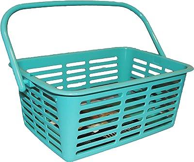 School Shop Durable Plastic Shower Caddy (Aqua)