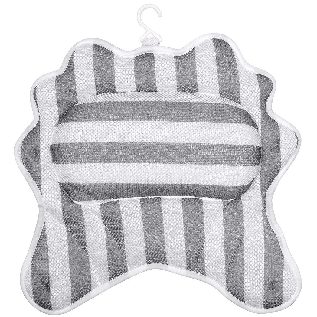 文言硬さ走るVRLIFE 風呂枕 浴槽枕 3Dお風呂枕 枕?パイプ 超强吸着 滑り止め付 まくら バスピロー安眠 肩こり 半身浴用品