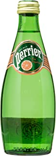 Perrier Pink Grapefruit Sparkling Mineral Water, 4 x 330ml