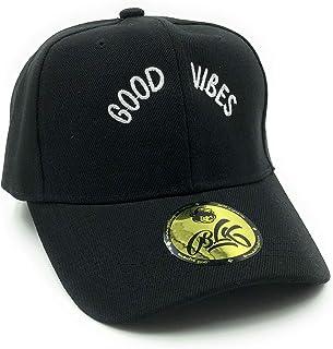أغطية الرأس B L K - قبعة Dad Good Vibes (قبعة سوداء)