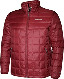 Columbia Men's Mist Falls 590 TurboDown Omni Heat Jacket Black