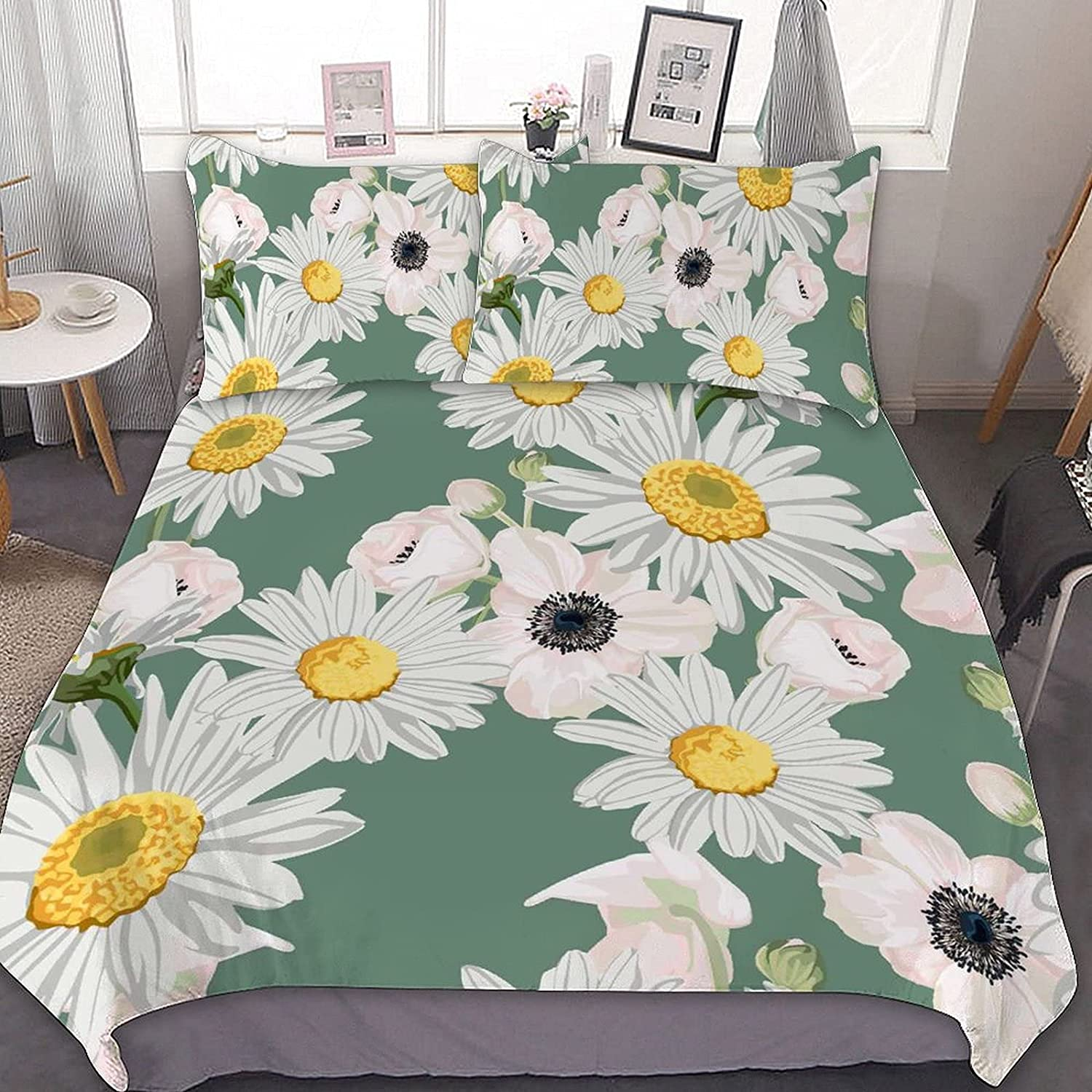 Leaves and Anemones Virginia Beach Mall Flowers Tucson Mall Bedding Piece Bag Set Sets 3